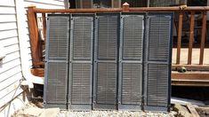 outdoor repurpose shutter screen, gardening, outdoor living, repurposing upcycling
