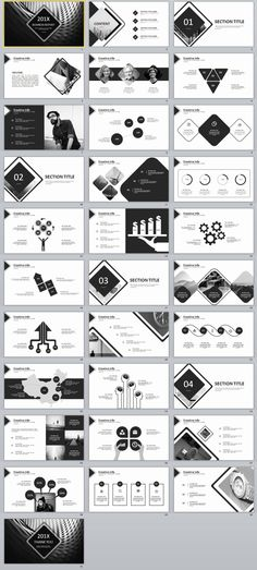 31+ Gray Creative timeline PowerPoint template
