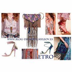 Accesorios Etro Verano 15. Leer mas en www.blog-de-moda.myleov.es #trends #moda #fashionbloggers #tendencias #etro #accesorios #boho #verano #myleov #blog