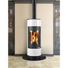 http://www.gr8fires.co.uk/thorma-cadiz-black-and-white-wood-burning-stove-8461/?utm_source=Social&utm_medium=Social - Thorma Cadiz Black and White Wood Burning Stove