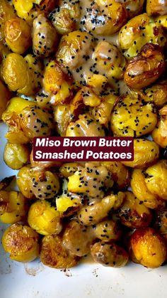 Veggie Recipes, Baby Potato Recipes, Vegetarian Recipes, Dinner Recipes, Cooking Recipes, Healthy Recipes, Potato Side Dishes, Veggie Side Dishes, Vegetable Dishes