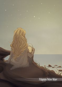 Still, the image haunted his dreams throughout the night, a lovely girl gazing at the stars, and the stars who gazed back.