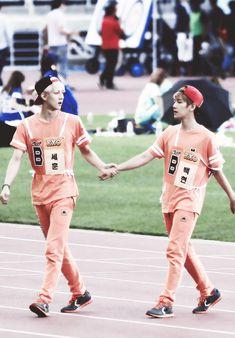 Sehun and Baekhyun - EXO