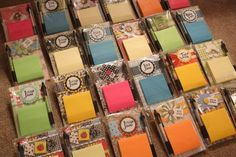 Post it note holders make great gifts and are very easy to make. I sell them at my Allied Arts booth in the fall and sell out every time. (...