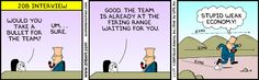 Weak Economy!! Dilbert Comics, Funny Interview, Website Features, Job Search, Comic Strips, Take That, Family Guy, Ads, Humor