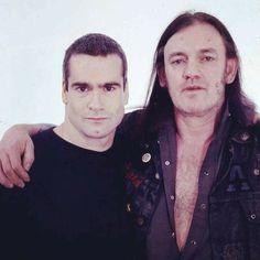 Henry Rollins/Black Flag & Lemmy Kilmister/MOTORHEAD