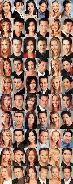 My favorites is  3 Monica & 5 Phoebe By: sam