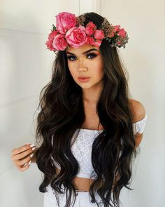Shared by princess Rose. Find images and videos about girl, hair and beauty on We Heart It - the app to get lost in what you love. Girls Tumbler, Sexy Makeup, Girl Photography Poses, Tumblr Fashion, Tumblr Girls, Pretty Hairstyles, Bridal Style, Hair Goals, Lisa