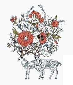 Together Print by Meera Lee Patel