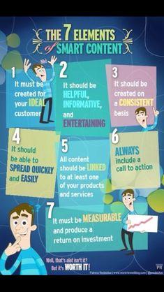 7 elements of smart content