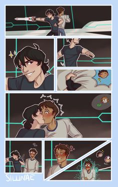 Page 2 Read klance 55 from the story KLANCE PICTURES by gayshipsruinemylife with reads. Voltron Comics, Voltron Memes, Voltron Fanart, Form Voltron, Voltron Ships, Voltron Klance, Klance Cute, Cute Gay, Sasunaru