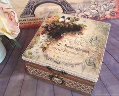 «Винтаж» Шкатулка для украшений, чая, рукоделия – купить в интернет-магазине на Ярмарке Мастеров с доставкой