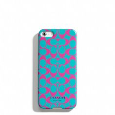 COACH PHONE CASE!!!! I love this!!!! I need this!!