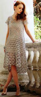 Tina rękodzieła: szydełkowa letnia sukienka z mandali