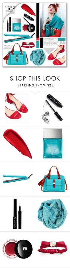 """""""bright"""" by mariarty ❤ liked on Polyvore featuring Express, Bobbi Brown Cosmetics, Sisley, Michael Kors, Brilliance New York, Dooney & Bourke, Giorgio Armani, Bajra and Edward Bess"""