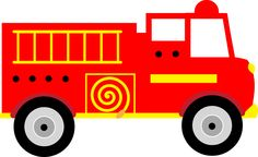 Fire Engine Clipart Image Cartoon