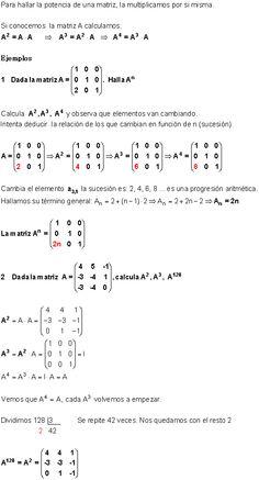 Potencia de Matrices Cuadradas.