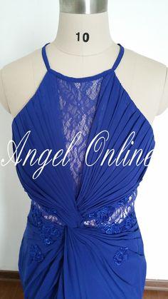 Royal Blue Prom Dress.Long Prom Dress.Lace Prom Dress.Prom Dresses 2015.Formal Dress.Mermaid Prom Dress.Beautiful Prom Dress.Evening Dress by Angelonlinedress on Etsy