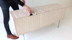 The Wave Cabinet by Sebastian Errazuriz.