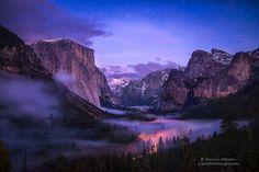 Yosemite Valley - Twilight Fog   Flickr - Photo Sharing!