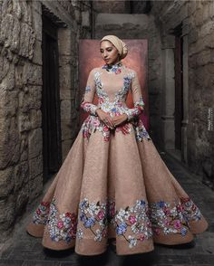 "When The Latest Reception Dresses Speak Volumes There is a phrase in Yoruba called ""oju t'on s'oro,"" which means eyes that speak volumes, Muslim Prom Dress, Hijab Evening Dress, Hijab Dress Party, Evening Dresses, Cheap Prom Dresses, Modest Dresses, Ball Dresses, Ball Gowns, Prom Gowns"