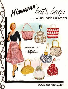 Vintage 36 Patterns 1955  Hiawatha Book 120 door MissJuliasPatterns