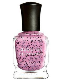 Deborah Lippmann 'I'm Not Edible' | Confetti Top Coats For a Party-Perfect Mani!