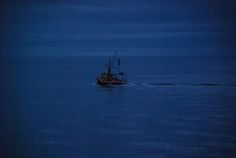Trawler Fishing Boats, Cherry, Night, Places, Projects, Painting, Art, Log Projects, Art Background