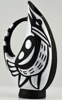 "designed by Marianne Starck for Michael Andersen ""Negro"" range"