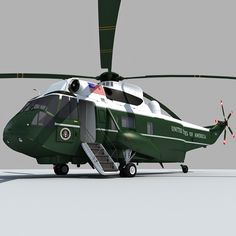 Marine Transport Helicopter | Home Presidential Transport Marine One Sea King Helicopter