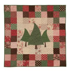 Quick and Christmassy quilt.