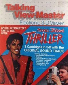 Michael Jackson Talking Viewmaster