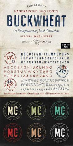 The Handcrafted SVG Font Bundle Otf Font, Font Logo, Typography, Serif Font, Script Fonts, Paint Font, Hand Fonts, Vintage Maps, Vintage Fonts