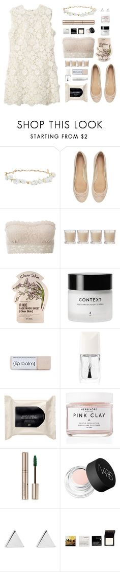 """""""Floral Lace"""" by amazing-abby ❤ liked on Polyvore featuring Design Lab, Witchery, Hanky Panky, Shabby Chic, Tony Moly, Christian Dior, H&M, Herbivore, By Terry and NARS Cosmetics"""