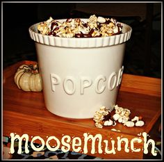 Pondered Primed Perfected: Award Winning Moose Munch Recipe