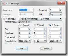 ATMStrategy: NinjaTrader Platform - ninZa.co