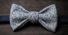 #bowtie, men's fashion Le Papillon - Bowties - Fall 14-15 Collection W02 - MOOD INDIGO bowtie