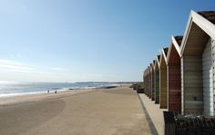 Blyth beach huts are a welcome blast from the past for a seaside town! Northumberland Coast, North East England, Uk Holidays, Beach Huts, Tourist Information, Seaside Towns, Sunderland, South Beach, Perfect Place
