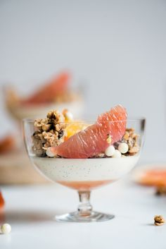 Citrus & Coconut Panna Cotta