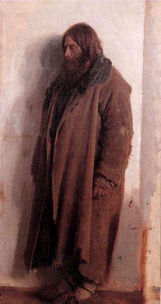 "Ivan Kramskoi, ""The Peasant Ignatiy Pirogov"", 1874 / arte, rusia, peredvízhniki"