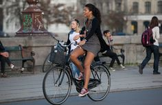 Welcome to the original Cycle Chic. Streetstyle, bicycle advocacy on high heels, style over speed. Mongoose Bike, Bicycle Brands, Female Cyclist, Urban Bike, Cycling Girls, Cycle Chic, Bicycle Girl, Bike Style, Girls In Love