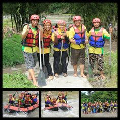 the rafting
