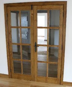 Internal Oak Door made to order for one of Devon Heritage Joinery's customers.