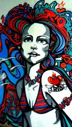 Rio de Janeiro Brazil street art - Ipanema neighborhood - SoloTripsAndTips.com