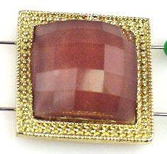 1 large square slider bead 9057
