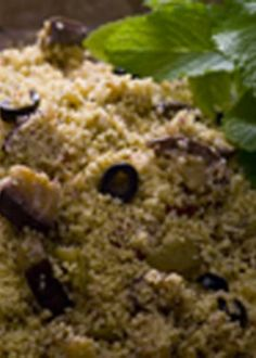 Salada mediterrânica de couscous