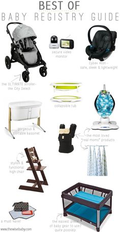 baby's essentials- all in a diagram!
