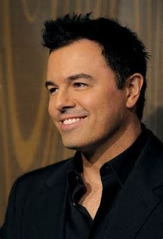 Seth McFarlane oddly attractive - it's because he's freaking hilarious and sarcastic!