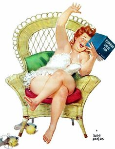 At last! A realistic pinup!