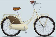 Dutch bike, so lady like